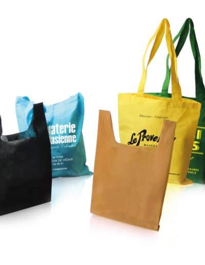 Tote Bags et Sacs Bretelles Intissés