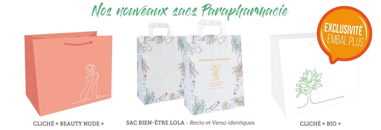 EMBAL PLUS Packaging - Nouveaux Sacs Parapharmacie