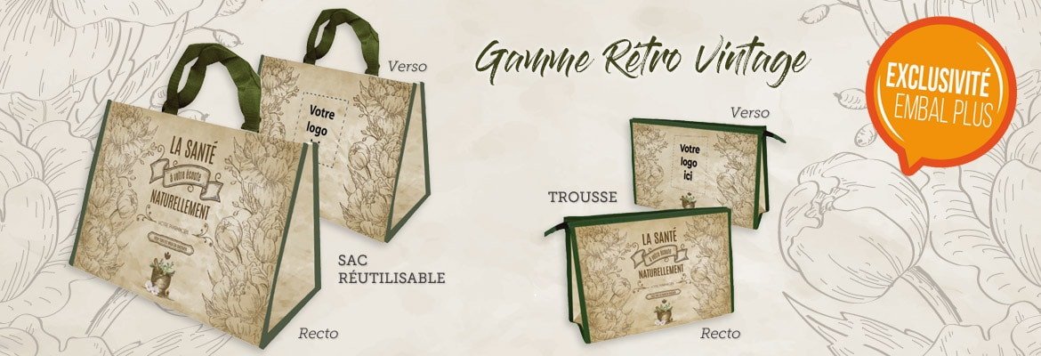 EMBAL PLUS Packaging - Gamme Rétro VIntage