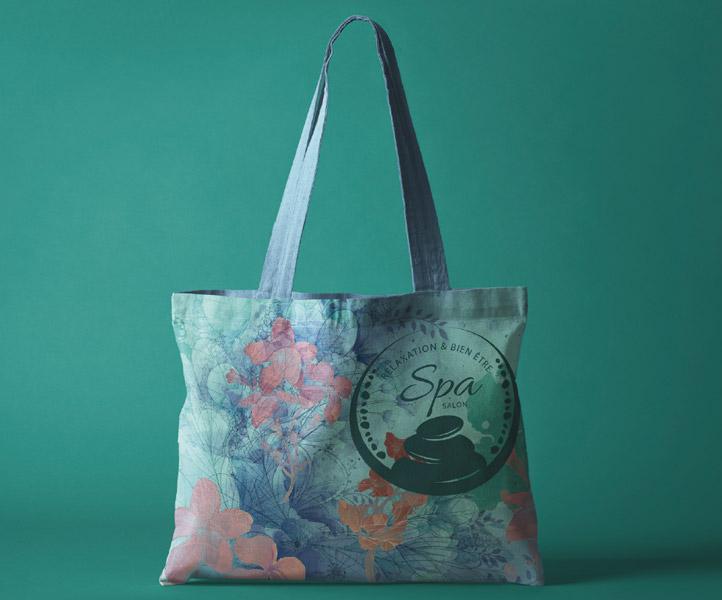 Tote bag, impression quadri